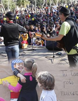 El festival infantil Panderoletes protagonista de la mañana del sábado en Castellón