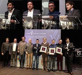 Entrega de premios de la Academia  de Gastronomía de la Comunidad Valenciana