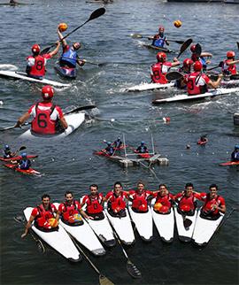 Copa de España de Kayak-Polo en el Real Club Náutico de Castellón
