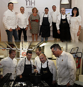 Chefs con estrella Michelin de Levante en el hotel NH Mindoro