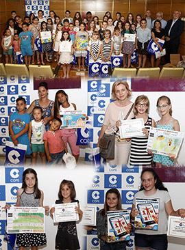Entrega de premios del X Concurso Infantil de Dibujo Ecológico de COPE Castellón