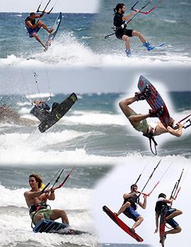 Colgados del cielo, kitesurf en las playas de Castellón