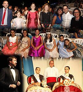 Presentación de las reinas de las fiestas del Grao de Castellón