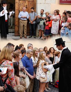 La fiesta del circo de la Fundación Caja Castellón fue un éxito