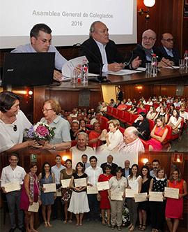 Los facultativos de Castellón aprueban la gestión económica del Colegio de Médicos