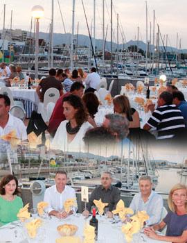 Gran cena de gala con motivo de la XX Regata Costa Azahar