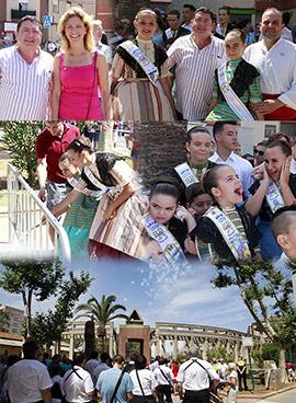 Mascletá iniciadora de las fiestas de San Pedro del Grao de Castellón