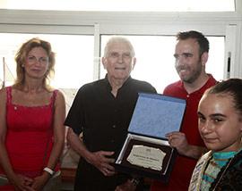 Sergio Ferrer recibe el Aladroc d´Or
