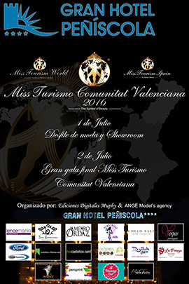 Elección de Miss Turismo Comunitat Valenciana 2016