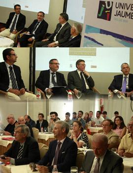 El presidente de la Generalitat Valenciana, Ximo Puig inaugura el curso de verano «Los males de la Europa social. Buscando soluciones» en Benicàssim