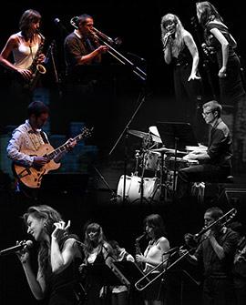 Magnífico concierto del septeto de jazz en la UJI