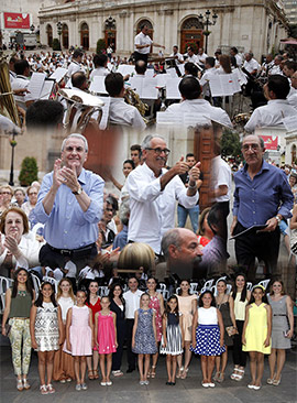 Primer concierto especial de San Cristóbal en Castellón