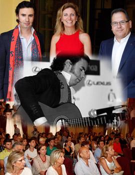 El guitarrista Pedro Navarro presentó a los castellonenses su nuevo TOUR 2016 en el Casino Antiguo