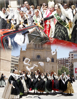 Castellón celebra la fiesta de su patrón, San Cristóbal