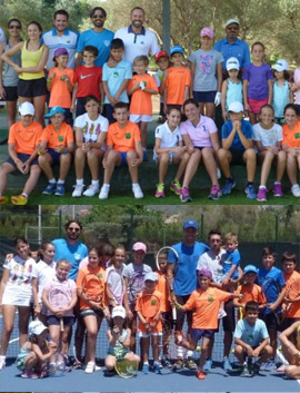 Tres estrellas internacionales del deporte en la escuela de verano del Club de Campo Mediterráneo