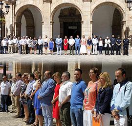 Castellón guarda un minuto de silencio por el atentado en Niza