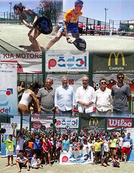 Finaliza el campeonato autonómico de pádel de menores