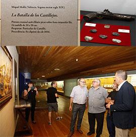 Presentación de la pieza invitada del Museu de Belles Arts de Castelló