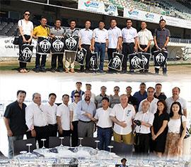 El Club deportivo Castellón recibe a la expedición China