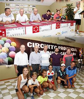 Continúa el XXXIII Circuito Provincial de Tenis de Castellón