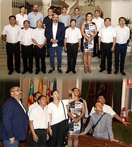 Castellón y Baise firman una carta de intenciones para el desarrollo de una relación internacional de amistad entre ambas ciudades