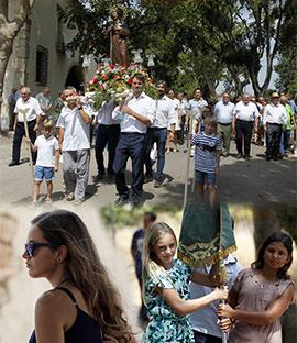 Procesión en honor a Sant Jaume