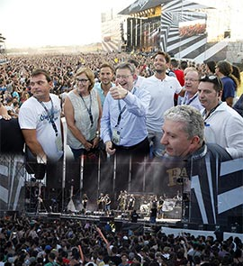 Inauguración del VII Festival de música Arenal Sound