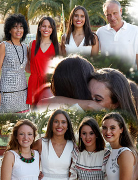 La elección como Reina Magdalena 2017 desborda de alegría a Estefanía Climent