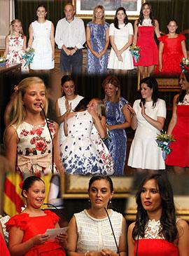Emotiva despedida y bienvenida a las reinas de la Magdalena