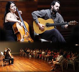 Concierto en Benicàssim de Iris Azquinezer y Ranier Seiferth