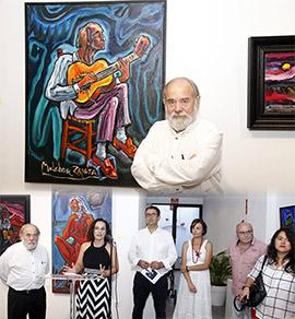 Exposición de Melchor Zapata en Benicàssim