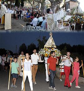 Fiesta de la Mare de Déu del Lledó en Sant Francesc de la Font