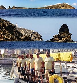 Un día en las Islas Columbretes