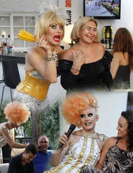 Geena Drag y La Chica Karamelo en como antes Benicàssim