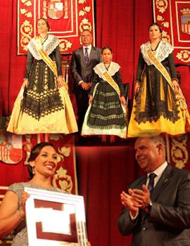 Elisa Ruiz Sáez reina de las fiestas de La Llosa