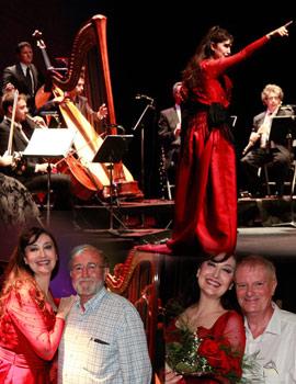 La voz de María José Montiel emocionó en el Teatro Municipal de Benicàssim