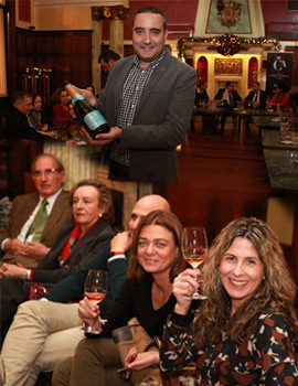 Cata champagnes exclusivos de ASUCAP en el Real Casino Antiguo