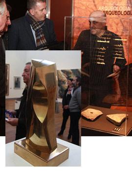 Presentación de la pieza del trimestre y la pieza invitada del Museu de Belles Arts de Castellón