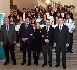 Entrega de becas Facsa a estudiantes residentes en Castellón