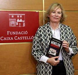 Pilar Cernuda en la Fundación Caja Castellón
