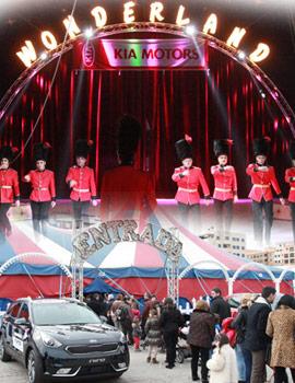 El Gran Circo Wonderland en sesión especial para los clientes y amigos de Automoción Cano Kia Castellón