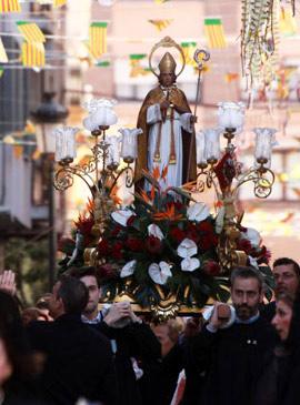 Castellón celebra las fiestas en honor a Sant Blai