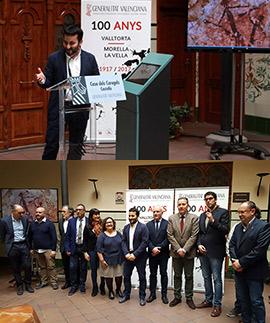 Presentación del Centenario Valltorta-Morella la Vella