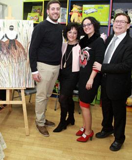 Pepe Mora y Jani Pitarch inauguran exposición en Babel