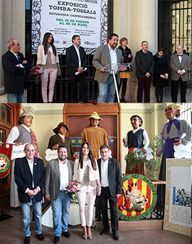 Inauguración de la exposición Tomba-tossals: mitología castellonenca