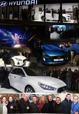 Fiesta presentación del nuevo Hyundai i30 en Agrocastalia