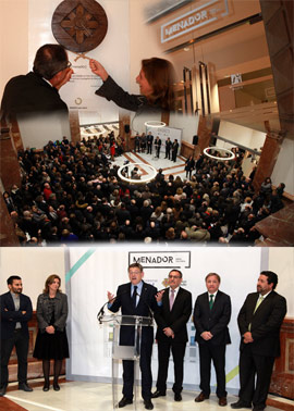 Inauguración del edificio Menador, un nuevo espacio motor cultural y de conocimiento de Castellón