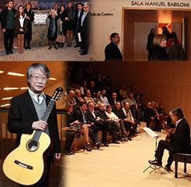 Homenaje a Manuel Babiloni y su nombre en la sala de Cámara del Auditorio de Castellón
