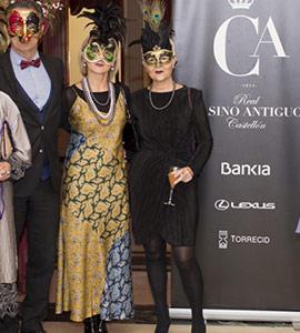 Baile de máscaras en el Real Casino Antiguo de Castellón
