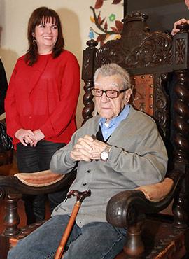 Francisco Carpi cumple cien años